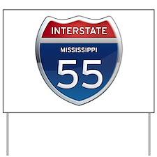 Mississippi Interstate 55 Yard Sign