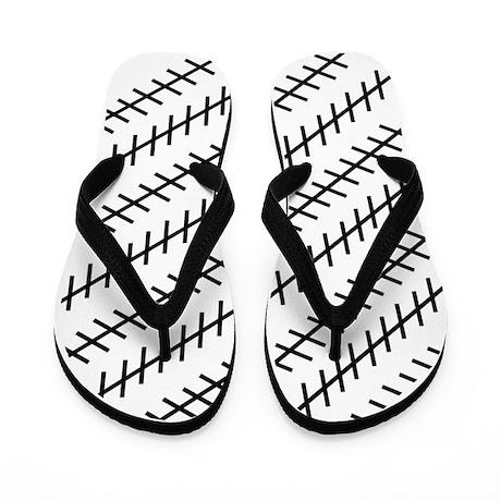 Straight Illusion Flip Flops