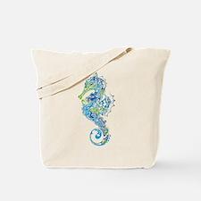 Fancy Seahorse Tote Bag