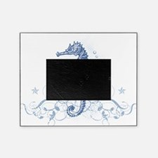 Blue Seahorse Picture Frame