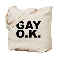 GAY O.K. Tote Bag