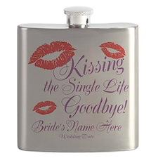 Custom Bachelorette Flask