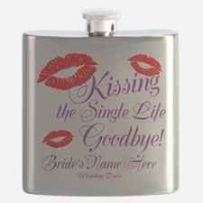 Custom Bachelorette Flask