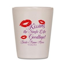 Custom Bachelorette Shot Glass