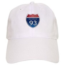 New Hampshire Interstate 93 Baseball Baseball Cap