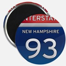 New Hampshire Interstate 93 Magnets