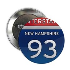"New Hampshire Interstate 93 2.25"" Button"