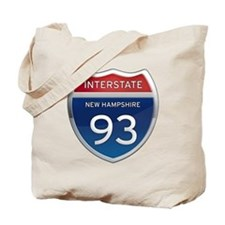 New Hampshire Interstate 93 Tote Bag