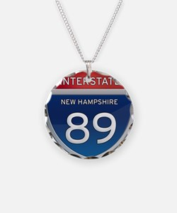New Hampshire Interstate 89 Necklace