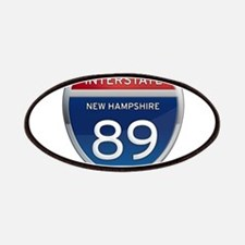 New Hampshire Interstate 89 Patches