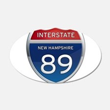 New Hampshire Interstate 89 Wall Decal