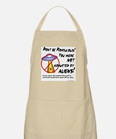Not abducted BBQ Apron