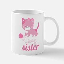 Kitten Big Sister Mugs