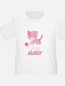 Kitten Big Sister T-Shirt