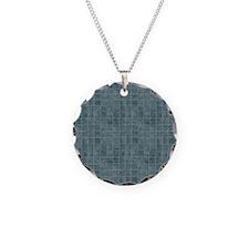 Tile Grain Designer Pattern Necklace