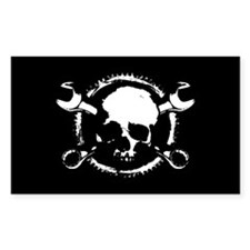 Wrench-Gear-Skull Decal