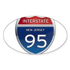 New Jersey Interstate 95 Decal