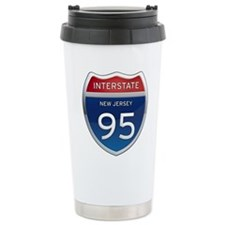 New Jersey Interstate 95 Travel Mug