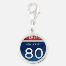 New Jersey Interstate 80 Charms