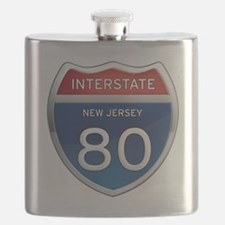 New Jersey Interstate 80 Flask