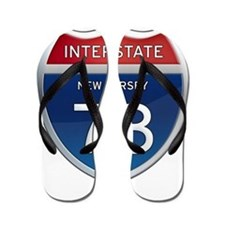 New Jersey Interstate 78 Flip Flops