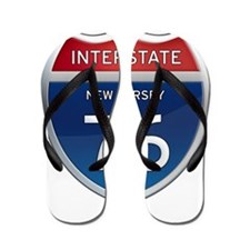 New Jersey Interstate 76 Flip Flops