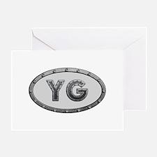 YG Metal Greeting Card