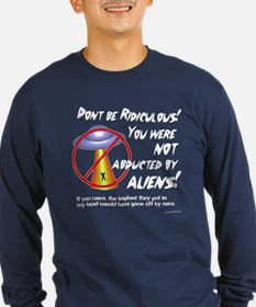 Not Abducted Dark Long Sleeve T-Shirt