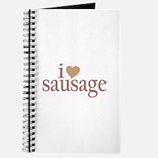 I Love Sausage Journal
