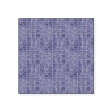 "Purple Tiles Square Sticker 3"" x 3"""
