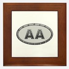 AA Metal Framed Tile