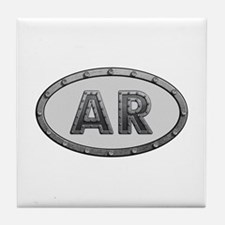 AR Metal Tile Coaster