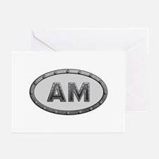 AM Metal Greeting Card 10 Pack