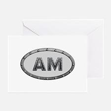AM Metal Greeting Card 20 Pack