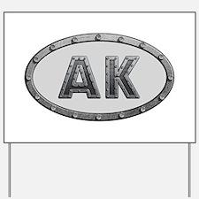 AK Metal Yard Sign