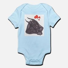 C Blu/Blu Motherlove Infant Bodysuit
