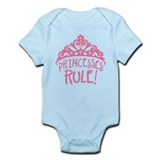 Princesses Rule Body Suit