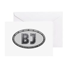 BJ Metal Greeting Card