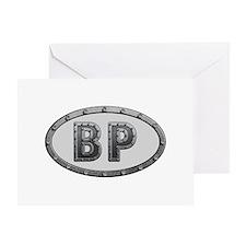 BP Metal Greeting Card