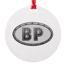 BP Metal Ornament