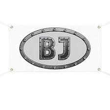 BJ Metal Banner