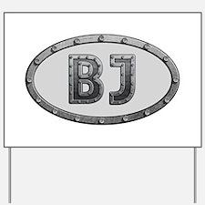 BJ Metal Yard Sign