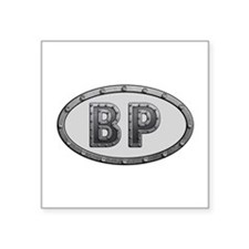 BP Metal Square Sticker