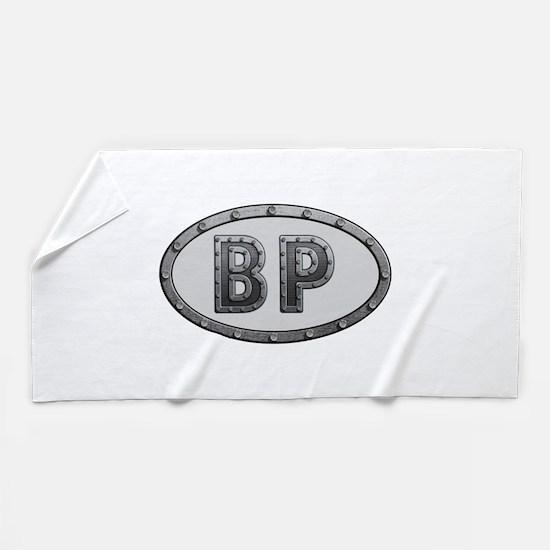 BP Metal Beach Towel