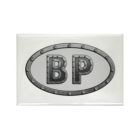 BP Metal Rectangle Magnet 100 Pack