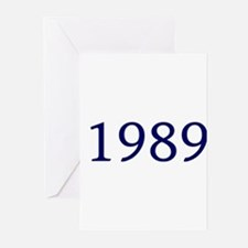 1989 Greeting Cards (Pk of 10)