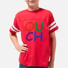 Ouch transparent Youth Football Shirt
