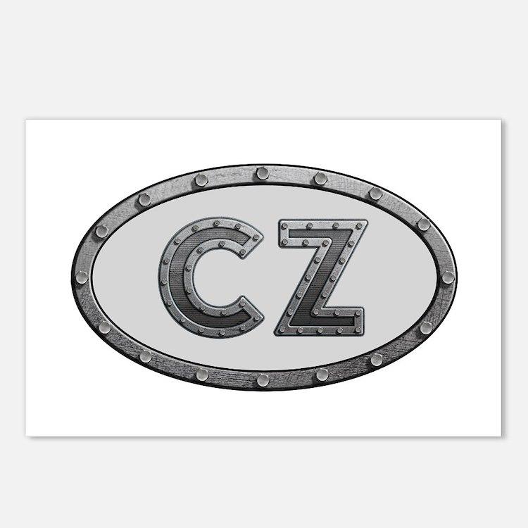 CZ Metal Postcards 8 Pack