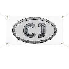 CJ Metal Banner