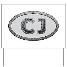CJ Metal Yard Sign